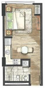 32 Sanson   Studio layout