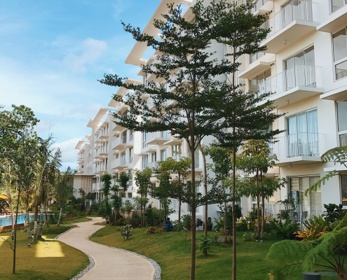 32 Sanson | outdoor building trees