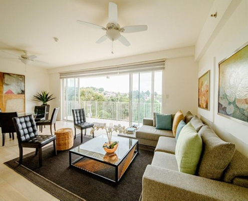 32 Sanson | indoor chairs balcony